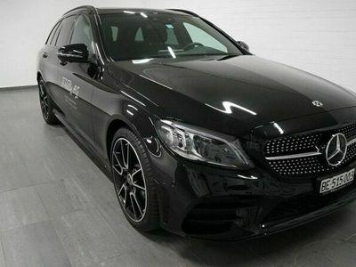 gebraucht Mercedes C200 AMG Line 4matic Kombi
