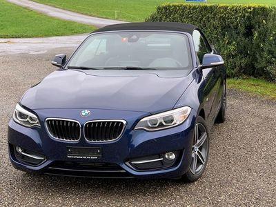 gebraucht BMW 220 i Sport Line Steptronic