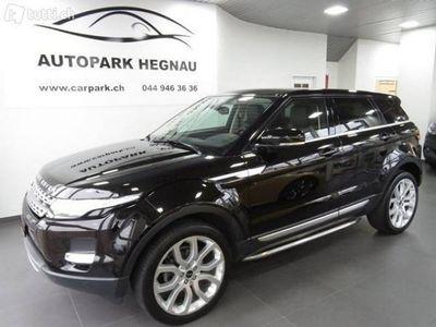 gebraucht Land Rover Range Rover evoque 2.0 Si4 Dynamic AT6
