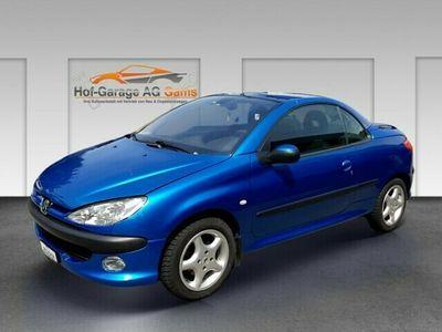 gebraucht Peugeot 206 CC 1.6 Platinum Edition