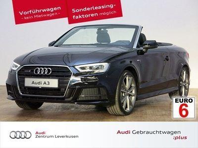 gebraucht Audi A3 Cabriolet sport 2.0 TDI quattro Leder VC Navi