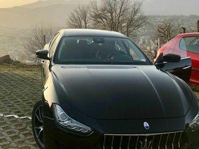 gebraucht Maserati Ghibli 3.0 Diesel V6 nera - tenuta perfettamente