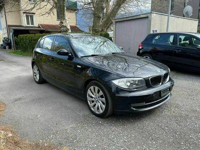 gebraucht BMW 118 1er d Jg 19.02.2009.