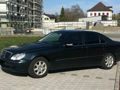 gebraucht Mercedes S350 S-Klasse Mercedes S-KlasseW220 4 Matic