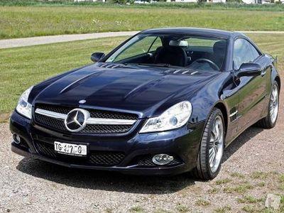 gebraucht Mercedes SL350 7G-Tronic Sportmotor Chromitschwarz-Met