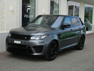 gebraucht Land Rover Range Rover Sport Range Rover Sport 5.0 V8 SVR 5.0 V8 SVR