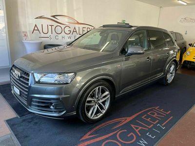 gebraucht Audi Q7 50 TDI quattro tiptronic * CH * Panorama * Black Paket * 21´´ *