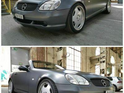 gebraucht Mercedes SLK230 SLK 230 AMG grau matt foliertAMG grau matt foliert
