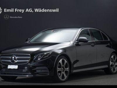 gebraucht Mercedes E220 4MATIC Limousine AMG Line