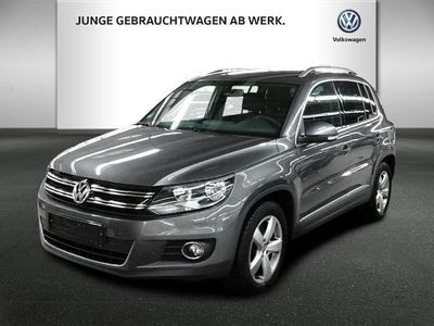 gebraucht VW Tiguan Sport & Style LOUNGE 2.0TDI AHK NAVI KAME