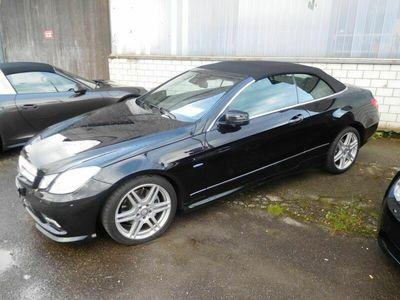 gebraucht Mercedes E350 E-Klasse Mercedes E 350 CGI Cabrio, AMG-Ausführung, Vollausstattung E-Klasse MercedesCGI Cabrio, AMG-Ausführung, Vollausstattung