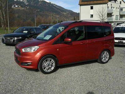 gebraucht Ford Tourneo Courier ier 1.0 EcoB 100 Titanium