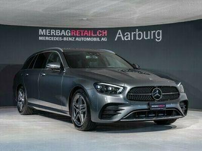 gebraucht Mercedes E220 E-KlasseAMG Line 4Matic
