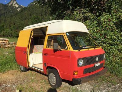 gebraucht VW T3 Typ 2 BusCamper Ex-Postbus Hochdach