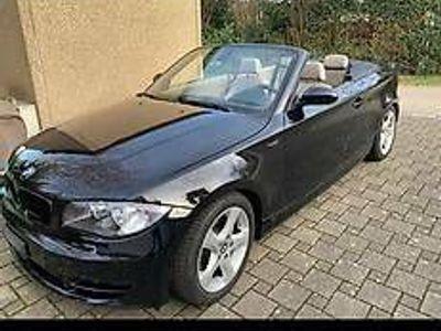 gebraucht BMW 120 Cabriolet 1er Zu verkaufen schöner i schwarz