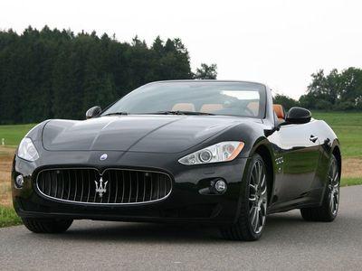 gebraucht Maserati GranCabrio GranCabrio/Granturismoin Traumfarbkombination Schwarz / Beige