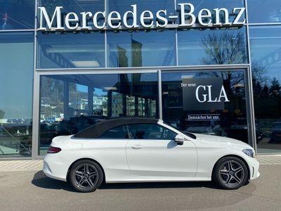 gebraucht Mercedes C200 AMG Line Cabriolet 9G-Tronic
