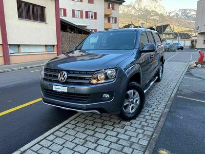 gebraucht VW Amarok 2.0 BiTDI Trendline 4Motion permanent A