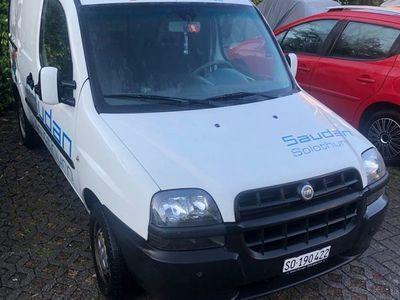 gebraucht Fiat Doblò Cargo 1,6 Benzin