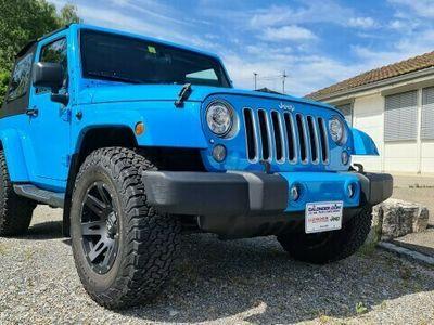 gebraucht Jeep Wrangler Sahara 3.6l V6