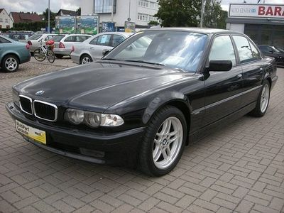 gebraucht BMW 740L i M-Sportpaket K Leder Xenon Navi AHK