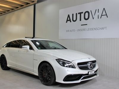 gebraucht Mercedes CLS63 AMG Shooting Brake AMG S Exec. 4Matic Speeds. MCT