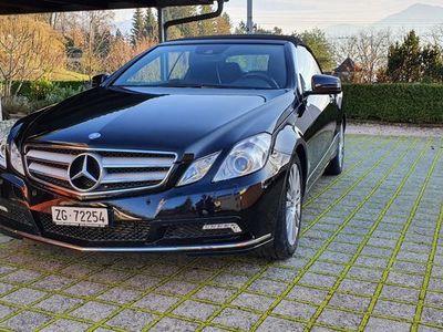 gebraucht Mercedes E250 E-KlasseCGI BlueEF Cabriolet