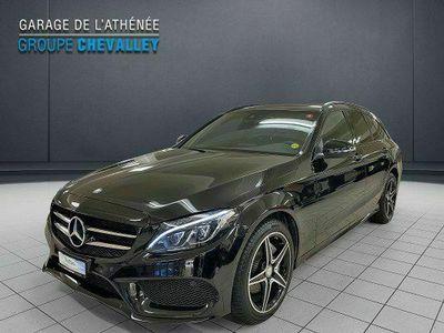 gebraucht Mercedes C220 d Swiss Star AMG 4M