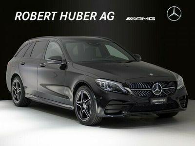 gebraucht Mercedes C220 C-Klasse C-CLASSd AMG Line 4Matic 9G-Tronic