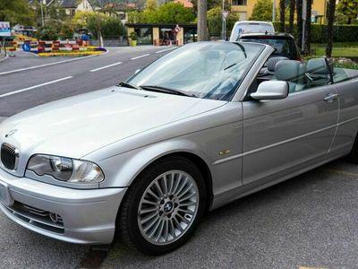 gebraucht BMW 330 Cabriolet 3er Ci silber