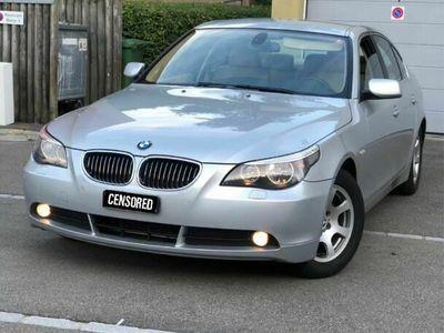 gebraucht BMW 523 5er i e60 (08.2020 MFK + Service) mit wenig Km