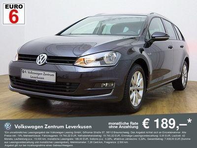 gebraucht VW Golf VII Variant 2.0 TDI Lounge KLIMA SHZ