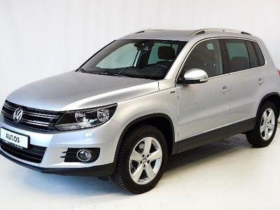gebraucht VW Tiguan Sport & Style LOUNGE 2.0TDI 4MOTION AHK N