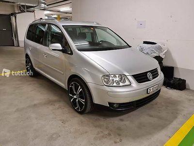 gebraucht VW Touran 7 Plätzer 2.0 TDI