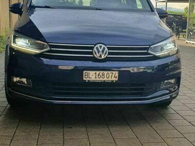 gebraucht VW Touran 1.4 BMT Highline/Panoramadach/LED/7-Plätzer