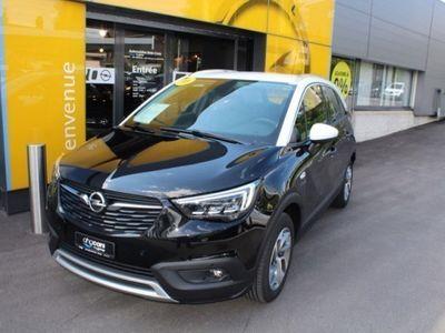 gebraucht Opel Crossland X 1.2 T Gotteron Black Edition