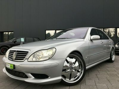 gebraucht Mercedes S55 AMG S-KlasseAMG L 73'900km 02.2003