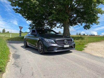 gebraucht Mercedes C300 C-KlasseAMG Line 4matic Coupé