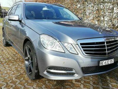 gebraucht Mercedes E350 E-Klasse Merc E350 CDI 4x4 Automat, Ab MFK sehr gepflegt E-Klasse MercCDI 4x4 Automat, Ab MFK sehr gepflegt