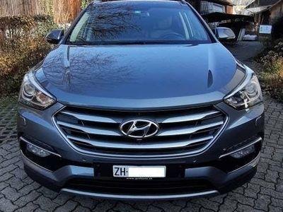 gebraucht Hyundai Santa Fe 2.2 CRDI Automatic, Werkgarantie bis 2022!!