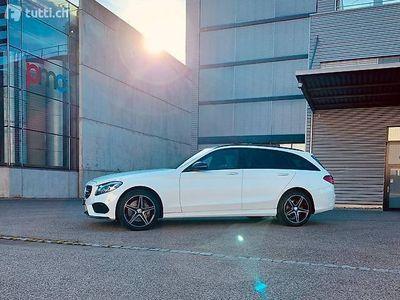 gebraucht Mercedes C250 AMG Line 4Matic 9G-Tronic mit Garantie