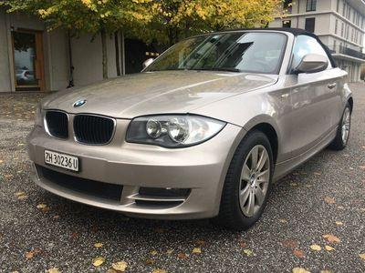 gebraucht BMW 120 Cabriolet d Steptronic