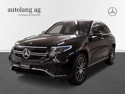 gebraucht Mercedes EQC 400 AMG Line 4Matic