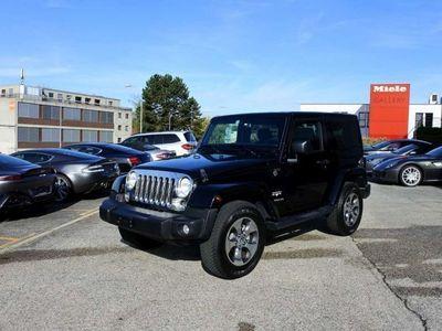 gebraucht Jeep Wrangler 2.8 CRD Sahara Automatic hardt