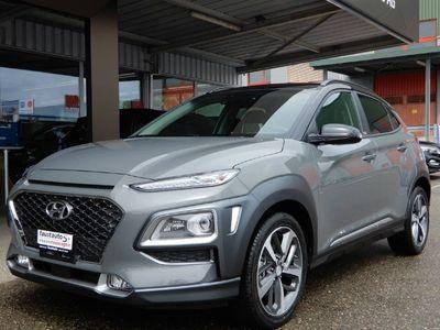 gebraucht Hyundai Kona 1.6 T-GDi Vertex 4WD Black Roof MY1