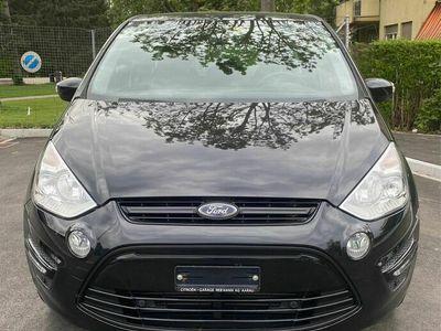 gebraucht Ford S-MAX 1.6 SCTi 94000km 2011 schwarz manuell