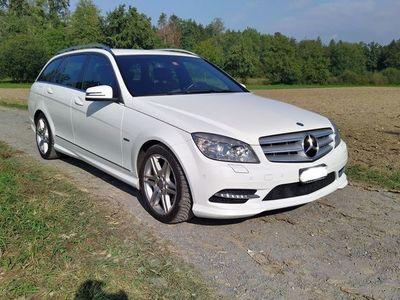 gebraucht Mercedes C250 C-Klassed AMG Line 4m Kombi