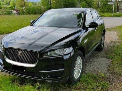 gebraucht Jaguar F-Pace 2.0d Pure AWD Automatik