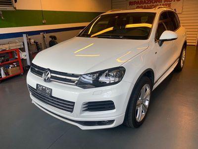 gebraucht VW Touareg 3.0 TDI R Line GANCIO TRAINO Elettrico.