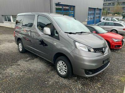 gebraucht Nissan NV200 1.6 16V 110 Comfort KLIMA,RÜCKFAHRKAMERA,NAVIGATION,7 PLÄTZER, AB MFK 11.2020